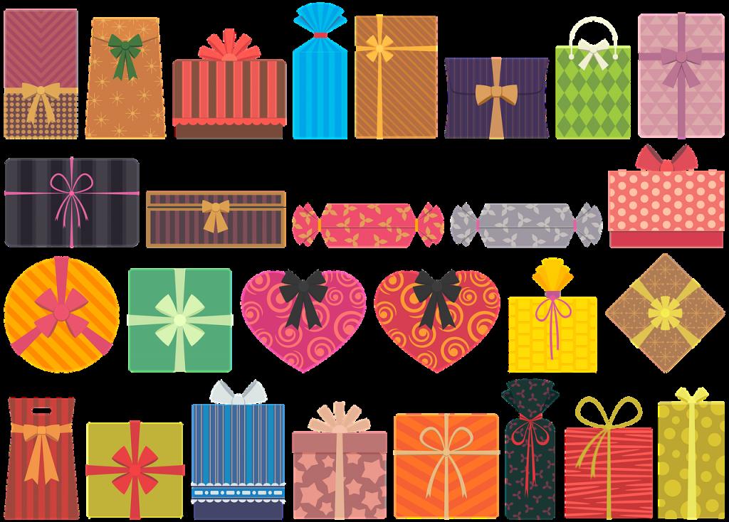סוגים שונים של מתנות