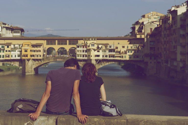 זוג בחופשה